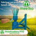 Meelko Peletizadora 150mm PTO para alfalfas y pasturas 100-120kg/h - MKFD150P