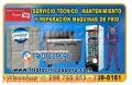 ¡AL MOMENTO! Mantenimiento Correctivo (MAQUINAS CONSERVADORAS) 998766083 Breña