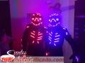 Servicio de Robots LED y hora loca