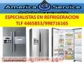 Técnicos Especialistas En Refrigeradoras, San Borja, San Isidro, La Molina TLF 4465853