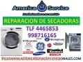 REPARACION Y MANTENIMIENTO DE SECADORAS, TODOS LOS MODELOS Y MARCAS TLF 4465853