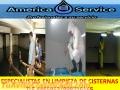 LIMPIEZA DE CISTERNAS Y TANQUES ELEVADOS 4465853 GARATANTIA DE UN AÑO