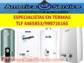 REPARACION Y MANTENIMIENTODE TERMAS Y TERMOTANQUES. TLF 4465853 TODAS LAS MARCAS Y MODELOS