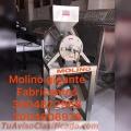 MOLINO PARA SACAR LICOR DE CACAO, EN ACERO INOXIDABLE