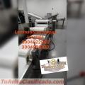 MAQUINA LAMINADORA PARA AREPAS EMPANADAS, PIZZAS OTRAS