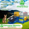 Extrusora Meelko para alimentos de perros y gatos 500-600kg/h 55kW - MKED120B
