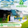 Extrusora Meelko para hacer alimentos de perros y gatos 1000-1200kg/h 90kW - MKED160B