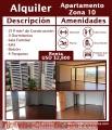 Alquiler Apartamento Zona 10 Jarisa Bienes Raices