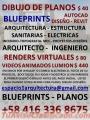 DIBUJO DE PLANOS EN AUTOCAD  EN $ 20