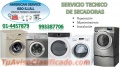 Servicio tecnico de secadoras a domicilio 4457879