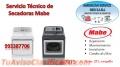 Servicio tecnico secadoras mabe 4457879