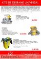 Kit de derrame de aceite 12321312
