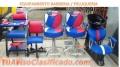 Peluquería, barbería, muebles, sillas