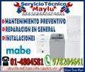 EXCLUSIVO MABE // 01-7576173((mantenimiento en centro de lavado)) barranco