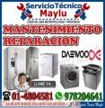 Calidad Daewoo // 7576173// Reparación De Lavadora y Secadora - En Villa María Del Triunfo