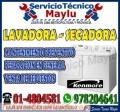 (7576173)servicio Garantizados Kenmore En Lava Seca&Secadora((En Villa El Salvador))