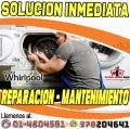 S/. 20 Precios Accesibles- Reparaciones Whirlpool�? Lavadora&Lava Seca 7576173! Chorrillos