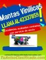 Mantas Vinilicas. Llama al:42337859