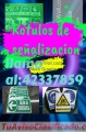 Rótulos de Señalizacion Comunícate al 42337859