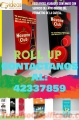 Roll up Impresión full color  Comunícate al:42337859