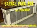 ACCESORIOS PARA BARES FABRICACIÓN Y DISEÑO EXCLUSIVOS LIMA PERÚ