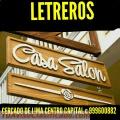 Letreros publicitarios en madera para Bares y cafetería Lima Perú