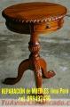 Limpieza y mantenimientos, Reparación de muebles clásicos Exclusivos lima Perú