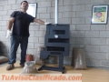 Calefactor Estufa A Pellet Meelko 10000 Kcal No Gas Ni Electricidad
