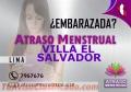 ATRASO MENSTRUAL EN VILLA EL SALVADOR