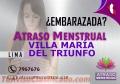 ATRASO MENSTRUAL EN VILLA MARIA DEL TRIUNFO