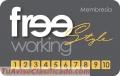 Tarjeta Free Working Style