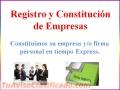 Constitución y registro de compañía Anónima, Firma Personal, Registro Mercantil