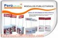 Venta de MODULOS PUBLICITARIOS PARA EVENTOS IMPORTANTES