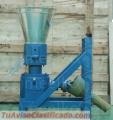 Máquina Meelko para pellets con madera 150 mm PTO