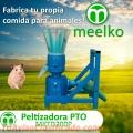 Máquina Meelko para pellets con madera 200 mm PTO