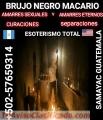 BRUJO NEGRO MACARIO  +502-57659314