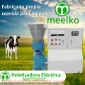 Peletizadora eléctrica MKFD150C pellets comida para animales.