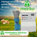 Peletizadora eléctrica MKFD150C pellets cascara de maní