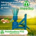Peletizadora PTO MKFD150P, Cáscara de Maní
