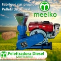 Peletizadora Diesel MKFD200A, Pellets Brizna