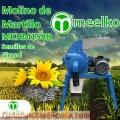Molino de martillo MKHM158B (Semillas de girasol)
