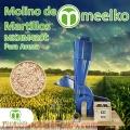 Molinos de martillos Meelko para avena