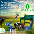 Mini Planta Meelko, MKD260A comida para toros