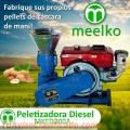Peletizadora Diesel MKFD200A, Cáscara Maní