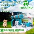 Extrusora MKEW200B pellets alimento para gatos