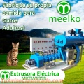 Extrusora MKEW135B para pellets alimento para gatos