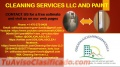 CLEANING SERVICES AND PAINT
