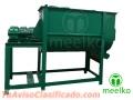 Mezcladora horizontal Meelko 500 kg por hora 7.5kw