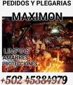 BRUJO LAZARO DE LA MANO DE MAXIMON PARA SALUD DINERO AMOR +502 45384979