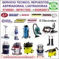 SERVICIO TECNICO PARA LUSTRADORAS, ASPIRADORAS/ELECTROLUX, THOMAS, CHASKY, ++/997617202